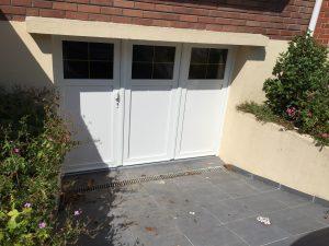 Porte battante PVC 3 vantaux